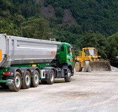 Green Dump Truck - Chassis Lubrication